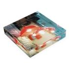 fleurir film farmの【We♥︎︎香港】 あのランプ Acrylic Blockの平置き