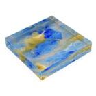 ATELIER SUIのbound Acrylic Blockの平置き