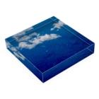 Takashi MUKAIのBlock-Voyage01 Acrylic Blockの平置き