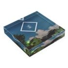 まいやんの雲 Acrylic Blockの平置き