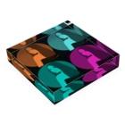 Logic RockStar  illustration Official StoreのLIVE HOT 2020 Acrylic Blockの平置き