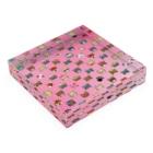 みなまりSHOPの荒ぶるチワワ ピンク Acrylic Blockの平置き