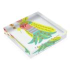 CUTIE BOXのアマビエちゃん Acrylic Blockの平置き