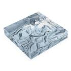 白上ルーネのアース Acrylic Blockの平置き