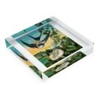 世界の絵画アートグッズのエレナー・ヴェア・ボイル 《おやゆび姫》 Acrylic Blockの平置き