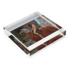 世界の絵画アートグッズのジョン・コリア 《ゴダイヴァ夫人》 Acrylic Blockの平置き