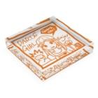 SWEET&SPICY 【すいすぱ】のGAME ON! 【SPICY ORANGE】 Acrylic Blockの平置き