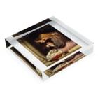 世界の絵画アートグッズのチャールズ・ウェスト・コープ 《とげ》 Acrylic Blockの平置き
