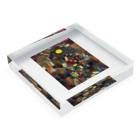 世界の絵画アートグッズのパウル・クレー 《満月》 Acrylic Blockの平置き