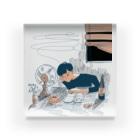 oyumi bedtownのブラインド Acrylic Block