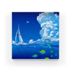 エムニジュウロクの風と海流 Acrylic Block