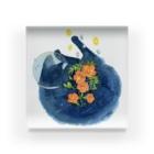 那木の花猫-ノウゼンカズラ- Acrylic Block