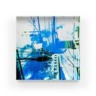 motchamのLAYER-GREEN (daylight dream) Acrylic Block