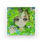 木川みくの盛夏とミント Acrylic Block