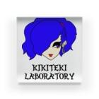 KIKITEKI_LABORATORYのPONITE GAL 青 × 紫 Acrylic Block