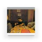 辛子明太子の名画「JavaScriptのthisを教えるpastak」 Acrylic Block