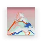 IKEYAのsamui yama Acrylic Block