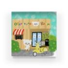 おやまくまオフィシャルWEBSHOP:SUZURI店のoyamakuma room Acrylic Block