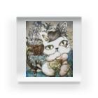 リンリン・ギャラクシーの不思議な子猫 Acrylic Block