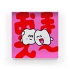 歯のマンガのアクリルブロック Acrylic Block