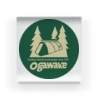 秘密結社ラビットシャドー団のOGAWAKE Acrylic Block