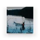 水辺の白鳥 Acrylic Block
