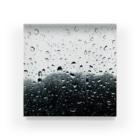 モリチエコの雨 Acrylic Block
