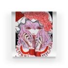 🌼*゚がーべらめらん*゚🌼の東方projectレミリアスカーレット Acrylic Block