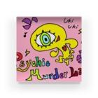 邂【サイマラショップ】逅 SUZURI店のPsychic Murder Lab.キャラクターデザイン2 Acrylic Block