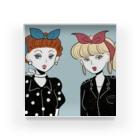 TERADA の50s rocabilly girls Acrylic Block
