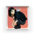 Warashiのわらしのアクリル Acrylic Block