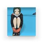 Warashiのわらしとすずりアクリル Acrylic Block