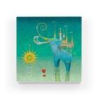 MarcelostのCastellini Elephantini Azure Acrylic Block