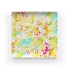 和の色彩 -wa_no_iroiro-のfloral dress Acrylic Block