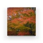 トロワ イラスト&写真館の美しき日本の紅葉3 Acrylic Block