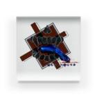 《成れの果て》-suzuri支店-のMAD HΘUND〈ロゴ-A〉 Acrylic Block
