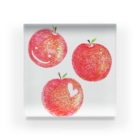 ayaの赤いりんご Acrylic Block