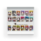 MINAMISOMA ART WORKS.のSOMA NOMAOI Girls Collection ALL(logo:brown) Acrylic Block