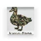 gemgemshopの鴨フラージュ Acrylic Block