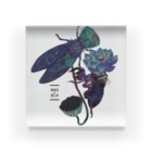 fig ragの蝉と蓮 Acrylic Block