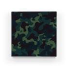 みや猫の迷彩柄(ブルー) Acrylic Block