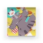 らてのかしょく Acrylic Block
