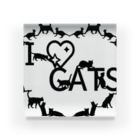 乃舞のI ♡ CATS Acrylic Block