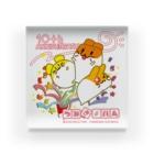 つみきハムショップのつみきハム10周年記念 Acrylic Block