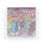 箕芳の花園の女の子たち Acrylic Block