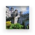 FUCHSGOLDのポルトガル:ぺーナ宮殿の風景写真 Portugal: Palácio Nacional da Pena / Sintra Acrylic Block