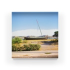 FUCHSGOLDのポルトガル:木造帆船 Portugal: Boat Acrylic Block