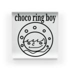 チョコリングボーイのお店のchoco ring boy / type-A Acrylic Block