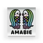 toodle doodleのアマビエツインズ♥ Acrylic Block