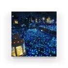 ひなの青い森 Acrylic Block
